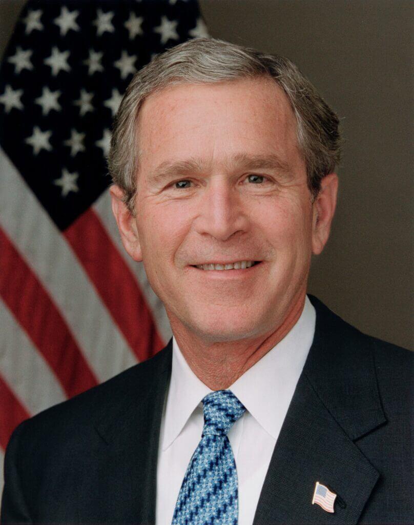 El ex presidente republicando George W. Bush se mostró interesado y preocupado por la situación de los migrantes.