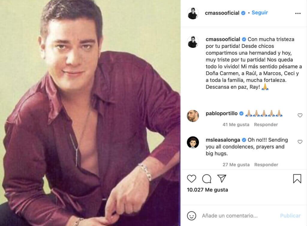 Charlie Massó se despide de Ray Reyes